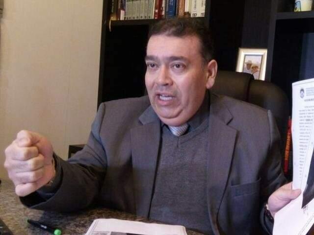 José Roberto Rodrigues Rosa em entrevista  (Foto: Luana Rodrigues/Arquivo)