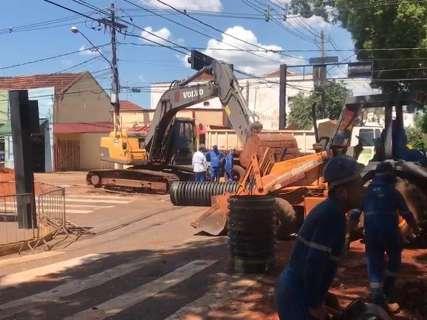 Interdição na Mato Grosso com a 14 começa sem tumulto, mas vai durar 4 dias