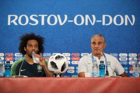 Seleção treina na Arena Rostov e está pronta para a estreia deste domingo