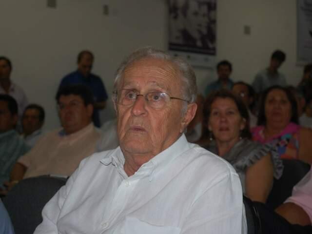 Patriarca dos Trad, ex-deputado federal morreu aos 81 anos no começo deste mês. (Foto: Maricleyde Vasques)