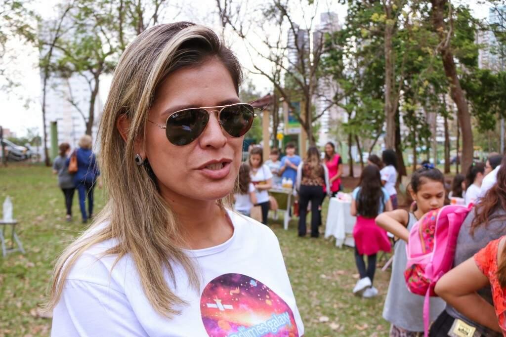 Tatiana é mãe de Maria Fernanda e aprova nova febre. (Foto: Henrique Kawaminami)