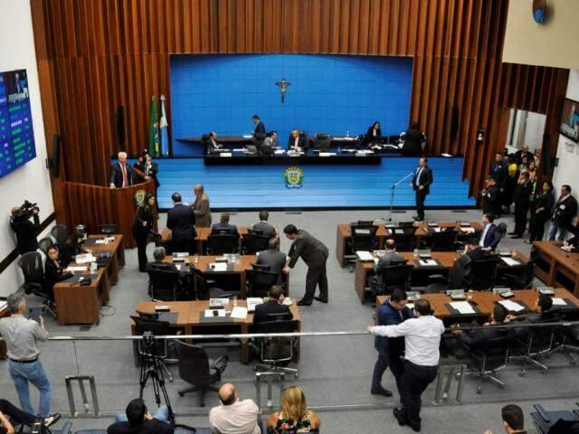 Evento vai ocorrer no plenário da Assembleia Legislativa (Foto: Assessoria/ALMS)