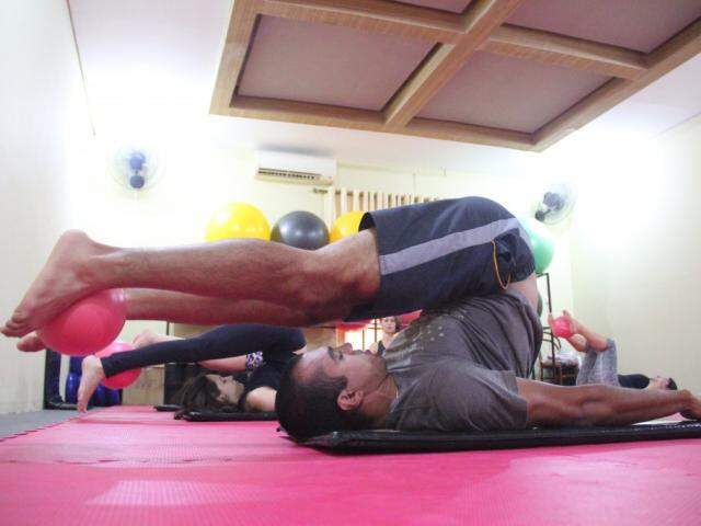 Paulo Rafael dos Santos não abre mão da prática. (Foto: Marcos Ermínio)