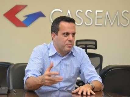 No dia em que completa 12 anos, Cassems elege presidente