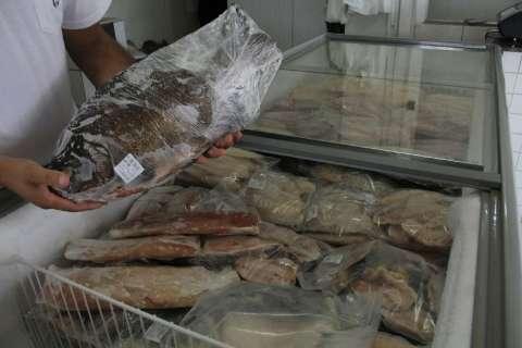 Movimento sobe 15% e peixarias esperam vender o dobro na Páscoa