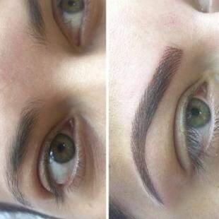 Micropigmentação de sobrancelhas ombré- Foto Divulgação