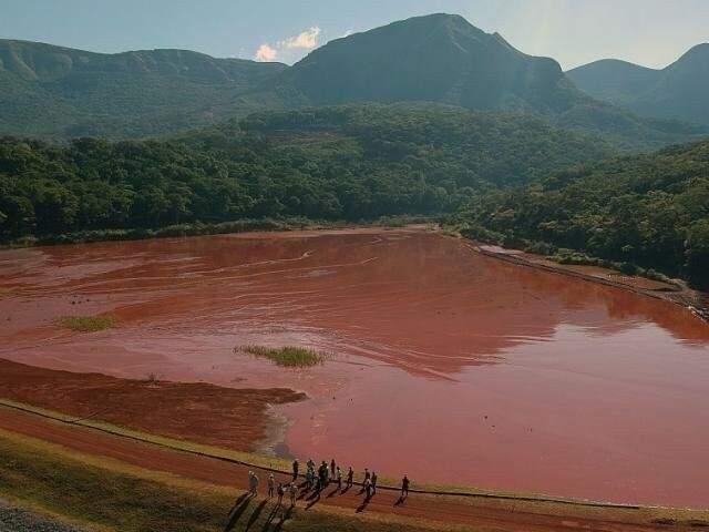 Barragem Laís, também da Vetorial já opera no limite em Corumbá. (Foto: Paulo Francis)