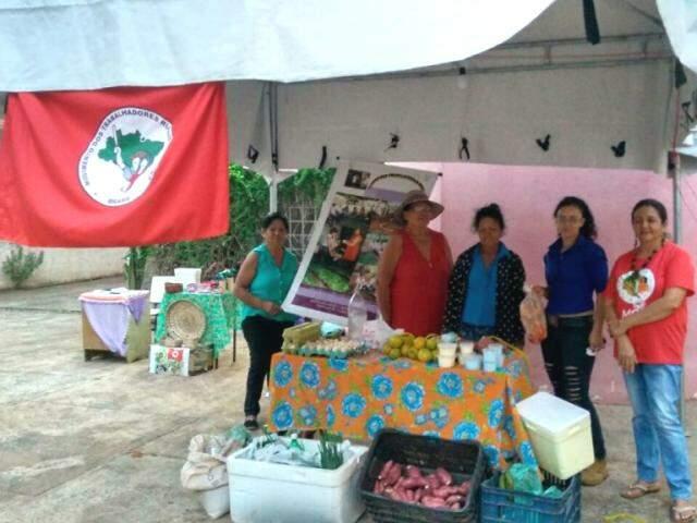 Grupo de Mulheres Raízes do Cerrado participam de feiras de orgânicos pelo Estado e pelo Brasil (Fotos: Lucas Arruda)