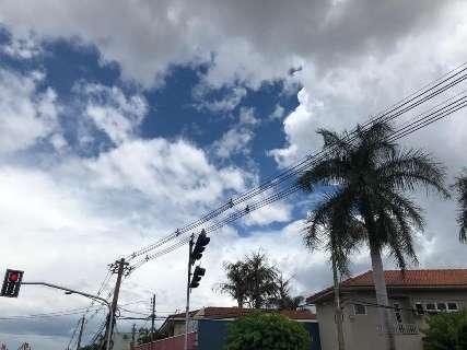 Com céu nublado e previsão de até 36ºC, clima em MS pode ter UR de 30%