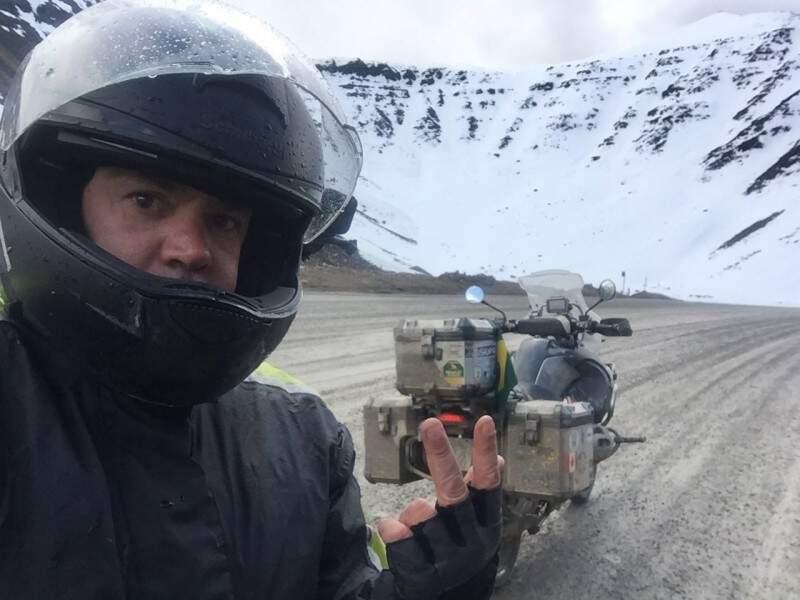 José Márcio mostra um pouco das belezas frias do Alasca