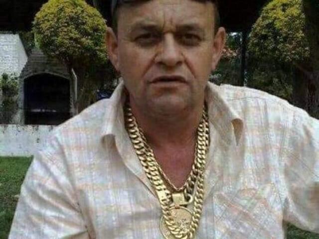 Antônio Bittencourt foi executado por dois pistoleiros, hoje de manhã, em Paranhos (Foto: Reprodução)