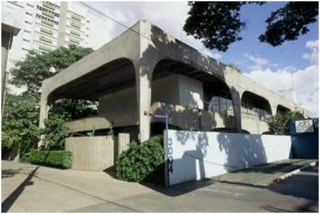 Residência modernista de Artigas em Campo Grande.