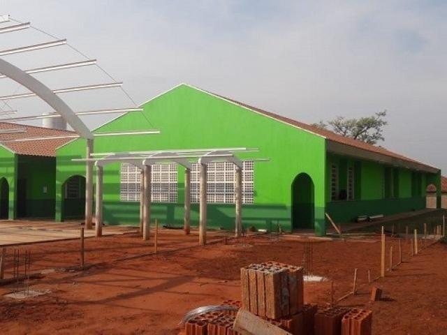 Escola estadual no Jardim Anache, uma das escolhidas em Campo Grande (Foto: Divulgação/SED)