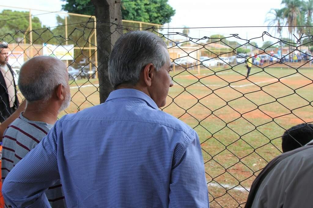 Governador Reinaldo Azambuja acompanhou final de torneio no Guanandi