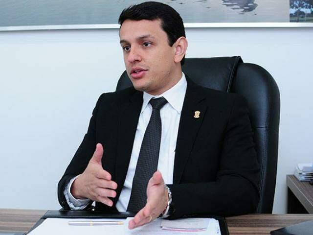 Deputado federal, Elizeu Dionizio espera ampliar sua atuação como titular do mandato deixado por Márcio Monteiro (Foto: Divulgação)