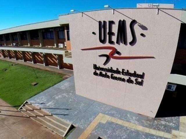 Prédio em campus da Uems (Foto: Uems/Divulgação)