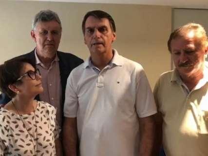 Justiça barra pedido de Odilon para tirar Bolsonaro da propaganda de Azambuja