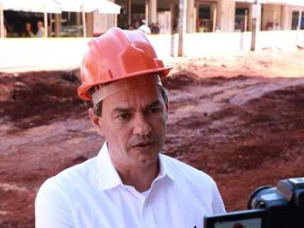 Para destravar obras paradas, prefeito aguarda recursos federais