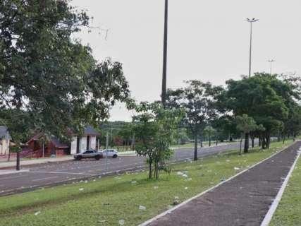 Comemoração pró-Bolsonaro deixa rastro de sujeira na Afonso Pena