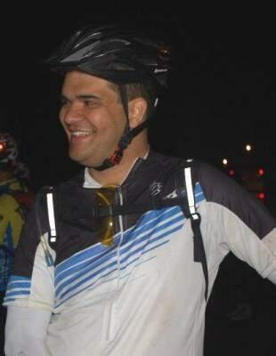 Diego emagreceu 22kg com a magrela e adotou a bicicleta como estilo de vida.