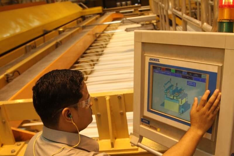 Geração de empregos nas indústrias de MS cresceru 1,5%. (Foto: Fiems)