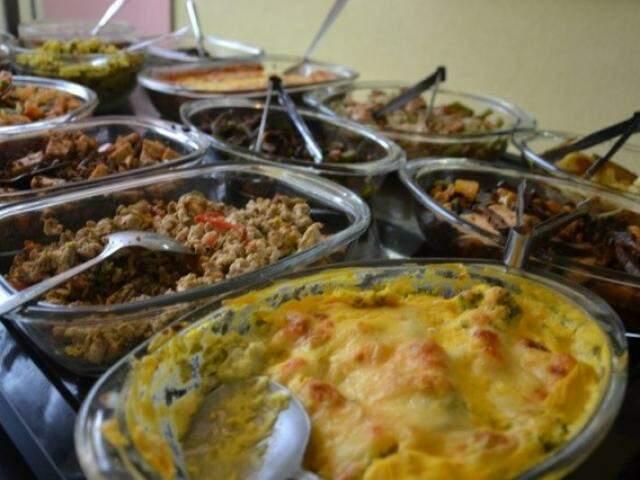 Comida farta custa caro nos maiores restaurantes da cidade. (Foto: arquivo)