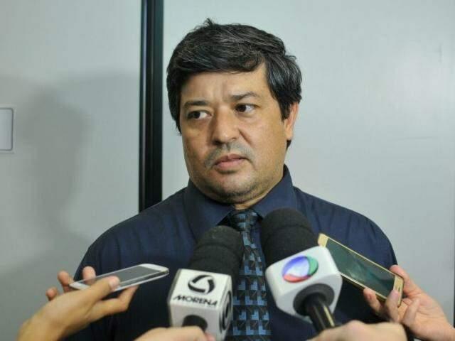 Delegado Fabiano Nagata (Foto: Alcides Neto)