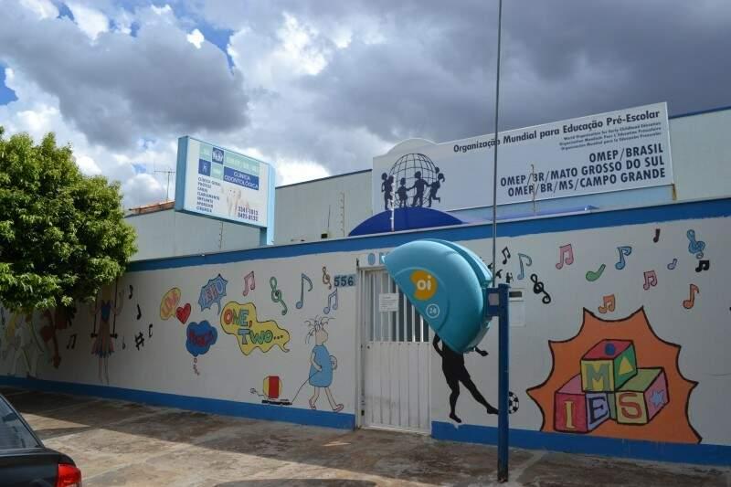 Sede da Omep, em Campo Grande. (Foto: Simão Nogueira)