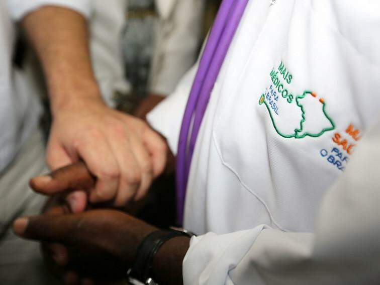 Integrantes do Mais Médicos (Foto: Karina Zambrana/Agência Brasil)