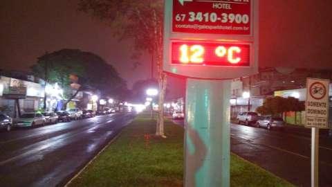 Cidade tem primeiro dia de frio em 2016 e temperatura chega a 6,6 graus