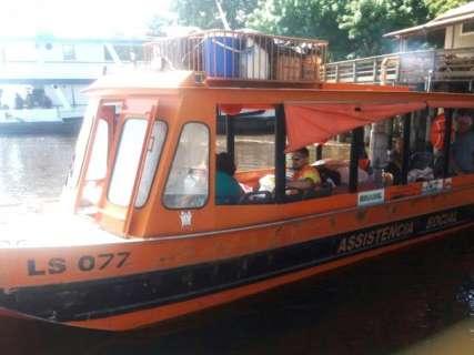 Prefeitura monitora área ribeirinha por risco de cheia no rio Paraguai