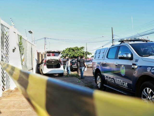 Motorista de aplicativo foi encontrado morto com golpes de faca em abril no Jardim Leblon (Foto: Henrique Kawaminami/Arquivo)