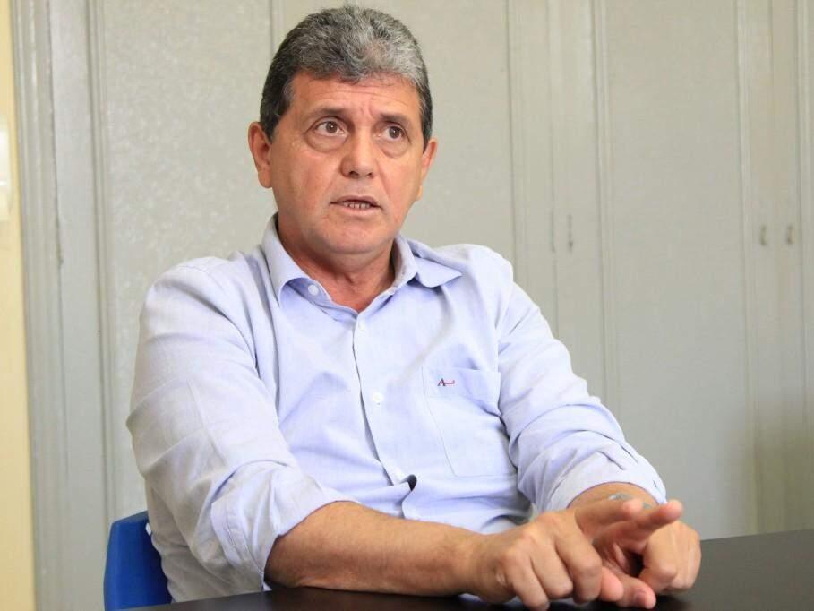 João Rocha durante visita ao Campo Grande News. (Foto: Marina Pacheco).