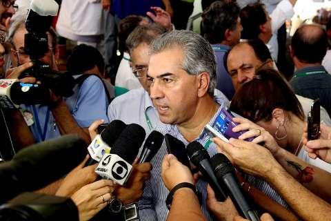Reinaldo se reúne com governadores em Brasília e depois em Cuiabá
