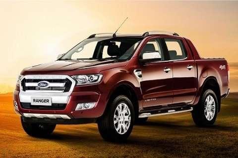 Ford divulga imagens do interior da nova Ranger