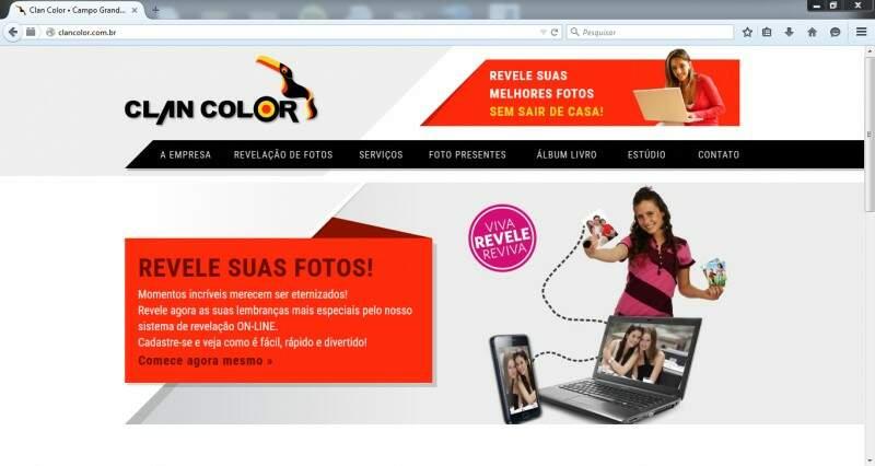 Capa do site (Foto: Divulgação)