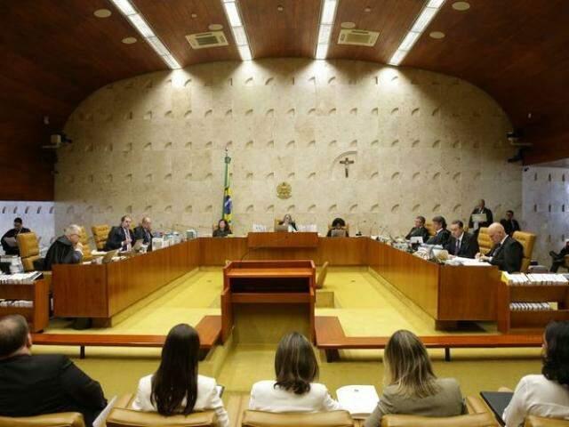 Julgamento começou na semana passada e somente o relator Gilmar Mendes votou (Foto: Antônio Cruz/Agência Brasil)