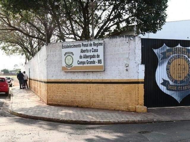 Ameaça aconteceu no Estabelecimento Penal de Regime Aberto e Casa do Albergado (Foto: Arquivo)