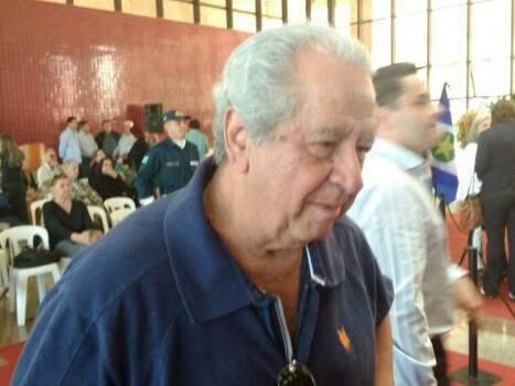 Ex-prefeito da Capital, Levy Dias. (Foto: Leonardo Rocha).