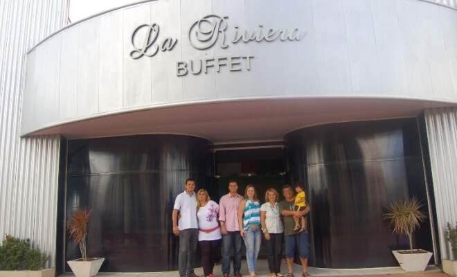 Família Zandavalli encontrou posição no mercado graças ao ramo de buffet.