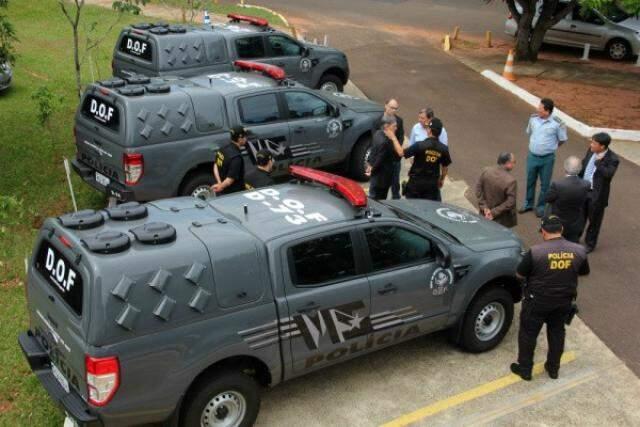 Comando do DOF quer atuação em conjunto com forças federais (Foto: Divulgação)