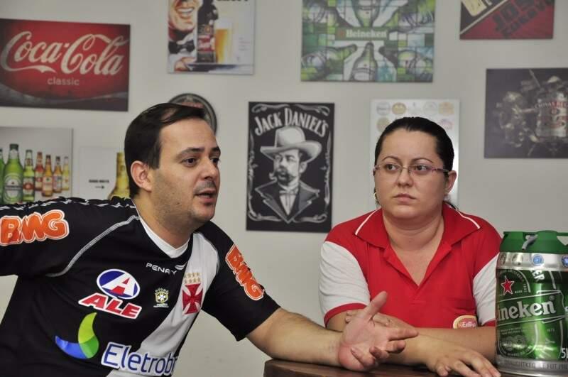 Casal abriu bar em maio, depois de peregrinar as noites de Campo Grande e não achar o meio termo entre elitizado e os quebrados.