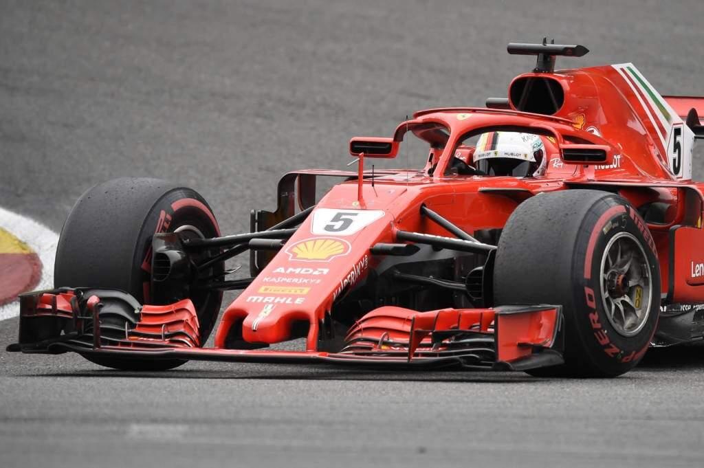 Vettel venceu prova neste domingo e se aproxima do líder. (Foto: John Thys/AFP)