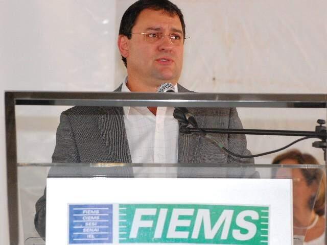 Sérgio Longen, presidente da Federação das Indústrias de Mato Grosso do Sul.