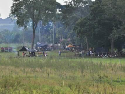 Impasse continua em fazenda reivindicada por índios em Sidrolândia