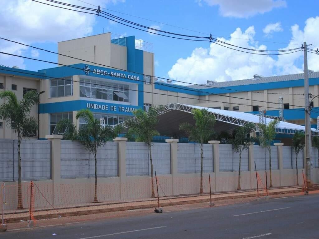 Hospital do Trauma será entregue amanhã, com a participação de autoridades (Foto: Marina Pacheco)