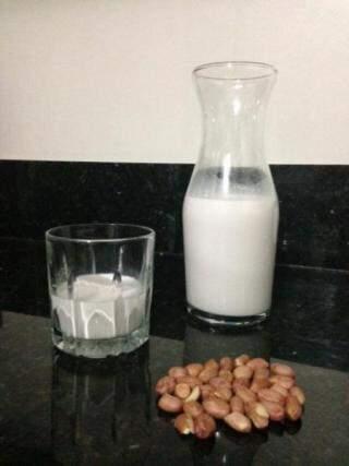 O leite de amendoim é o que eles mais consomem.