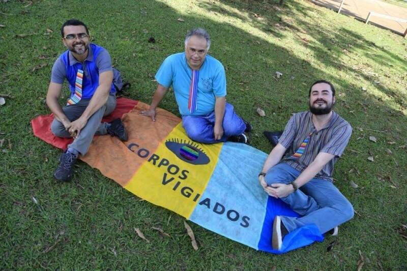 Além de Tiago Duque, compõem o projeto os também professores Guilherme Passamani e Aparecido Francisco dos Reis.(Foto: Gerson Walber)