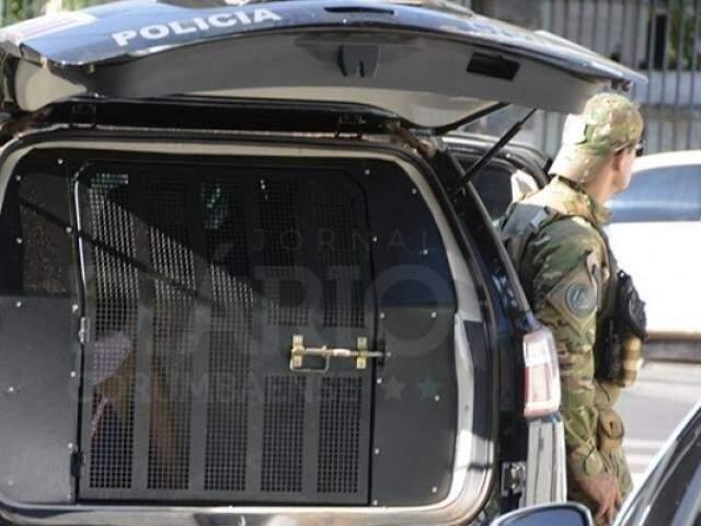 Operação para prisões foi no dia 29 de março, em Corumbá. (Foto: Anderson Gallo/Diário Corumbaense)