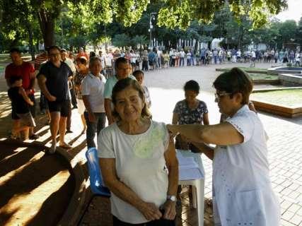 Campanha de vacinação contra a gripe é prorrogada até 22 de junho